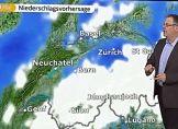 Von Westen Regen und Schnee