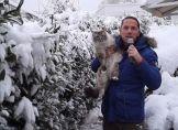 Die Taunus-Schneekatze und das Tauwetter