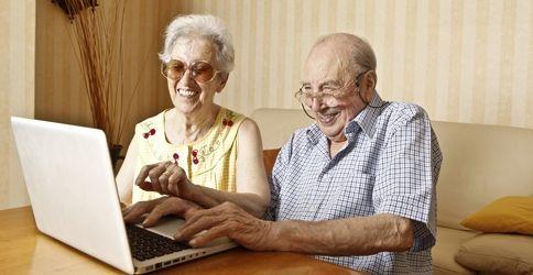 Oma geht online