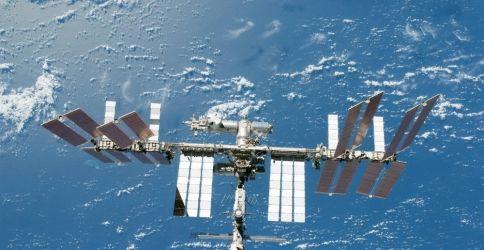 Die ISS von der NASA aufgenommen