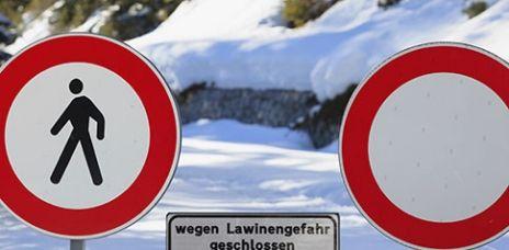Erhebliche Lawinengefahr in den Alpen