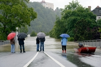 Hochwasser in Passau (Christof Stache/AFP)