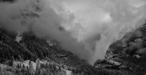 Alpen im Schnee