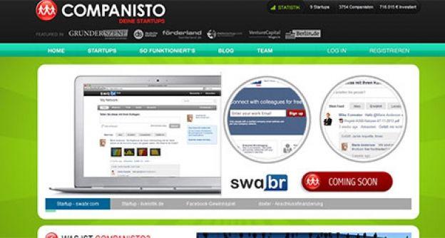 Werbung für Startup bei companisto