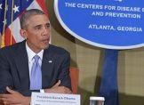 """Ebola-Bekämpfung: Obama """"vorsichtig optimistisch"""""""