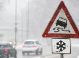 Achtung! Glatteisregen und Schnee