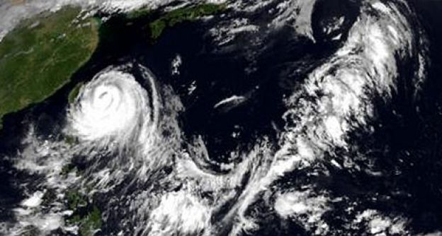 Taifun Soulik trifft auf Taiwan
