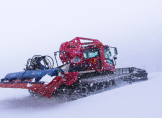 Wettkampf im knappen Schnee