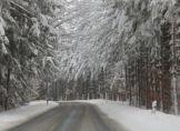 Nach der Tiefdruck-Schlacht wird Schnee gemacht