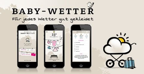 Artikel zur Baby Wetter App