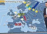 Skandinavien-Hoch bringt Sonne, aber auch Kälte