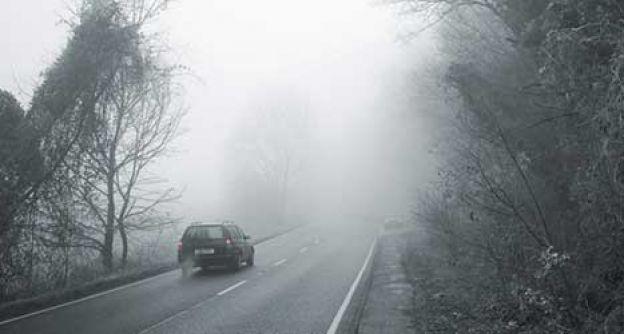 Autofahren im Nebel
