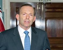 Australien, Premierminister, Tony Abbott (PAUL J. RICHARDS / AFP)