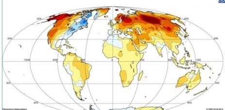 Global wärmster Winter trotz Kälte in Nordamerika