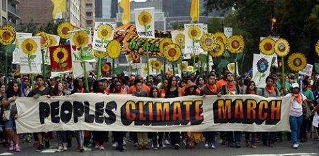 Weltweit Kundgebungen für den Klimaschutz