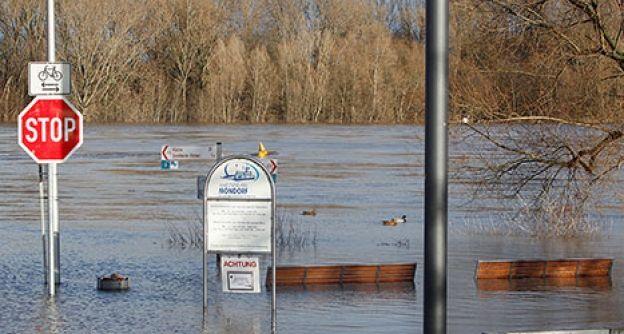Hochwasser in Bonn