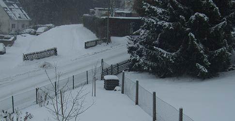 Schnee im Taunus Schmitten