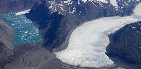 Grönlands Gletscherseen werden zur Gefahr