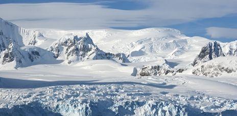 Inlandeis der Antarktis verliert Masse