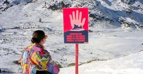 Hohe Lawinengefahr in den Alpen