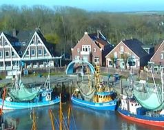 Neuharlingersiel, Wetter.com Livecam, 19. April 2014