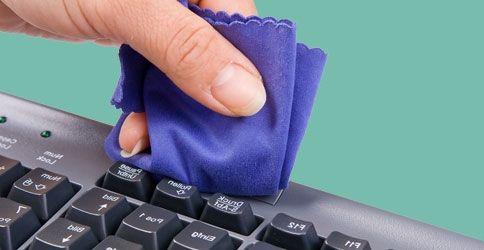 Reinigung der Tastatur