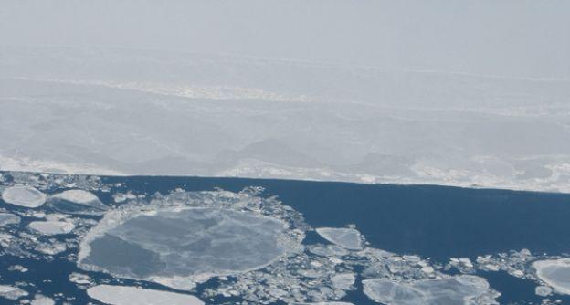 arktisches Meereis dapd