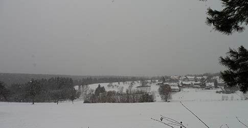 Schnee im Nordschwarzwald