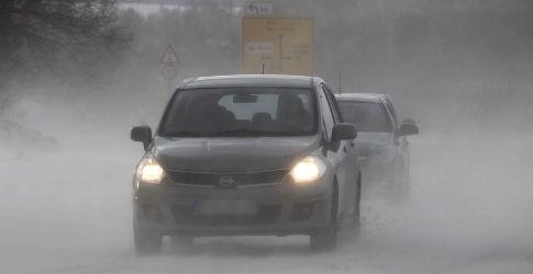 Auto-Schnee-dapd