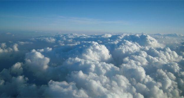 Wolken über Deutschland