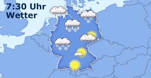 Deutschlandwetter um 730Uhr