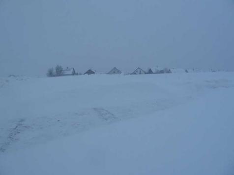 Schnee auf der  Ostalb in Baden-Württemberg, hier Schechingen von Florian Müller