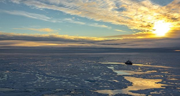 Dünnes Arktiseis (Stefan Hendricks, AWI)