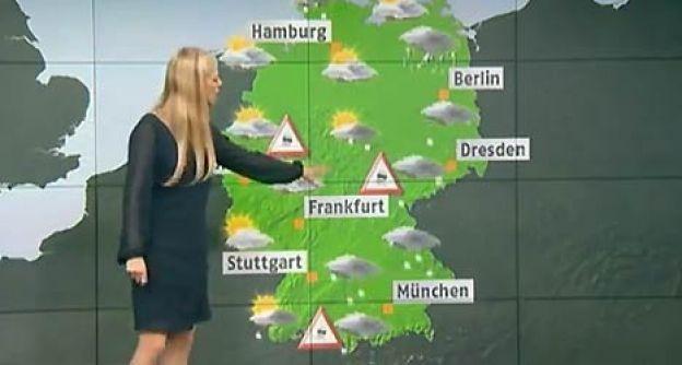 Annek moderiert das Wetter bei N24