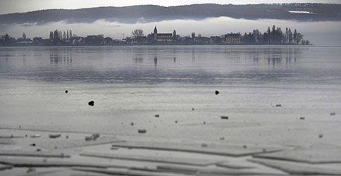 Bodensee Eisschollen