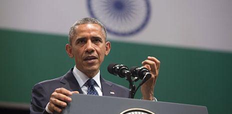 Klimaschutz: Obama appelliert an Indien