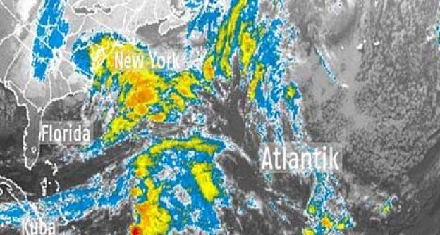 Das Satellitenbild der USA vom 7.11.2012