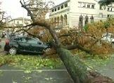 Orkan trifft Südwestfrankreich