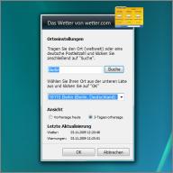 windows gadget