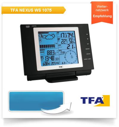 Funk-Wetterstation TFA WS 1075, Nexus