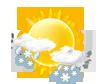 leichter Schnee / Regen-schauer