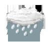 mäßiger Regen