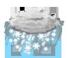 starker Schnee-Regen
